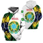 3D All-over Printed Apparels 'Brasil' Crovell-X1