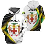 3D All-over Printed Apparels 'Jamaica' Crovell-X1