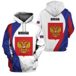 3D All-over Printed Apparels 'Russia' Crovell-X1