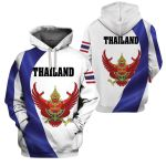 3D All-over Printed Apparels 'Thailand' Crovell-X1