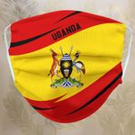Fabric Face Mask 'Uganda' Idagon-X1