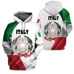 3D All-over Printed Apparels 'Italy' Crovell-X1