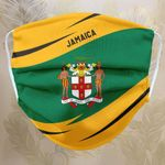 Fabric Face Mask 'Jamaica' Idagon-X1