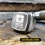 U.S Army Silver Ring - Limited edition