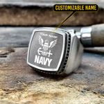 Navy in your Silver Ring - Limited edition