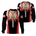 3D All-over Printed Apparels 'Canada' Crovell-X2