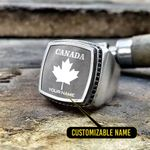 Silver Ring 'Canada' Stosal-X1