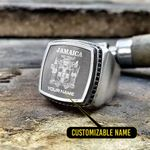 Silver Ring 'Jamaica' Stosal-X1