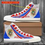 Unisex High-Top Shoe & Sneaker 'Puerto Rico' Huning-X1