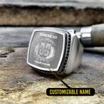 Silver Ring 'Dominican Republic' Stosal-X1