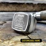 Silver Ring 'Haiti' Stosal-X1
