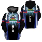 3D All-over Printed Apparels 'Haiti' Crovell-X2
