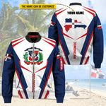 3D All-over Printed Apparels 'Dominican Republic' Crovell-X4