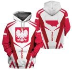 3D All-over Printed Apparels 'Poland' Crovell-X4