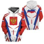 3D All-over Printed Apparels 'Russia' Crovell-X4