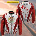 3D All-over Printed Apparels 'Canada' Crovell-X4