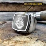Hogwarts Silver Ring- Limited edition