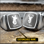 Duck and Doe Silver Ring- Limited edition