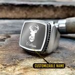 Buck and Doe Silver Ring- Limited edition