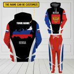 3D All-over Printed Apparels 'Russia' Crovell-X3