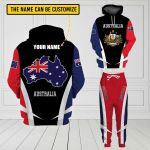3D All-over Printed Apparels 'Australia' Crovell-X3