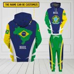 3D All-over Printed Apparels 'Brasil' Crovell-X3