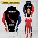 3D All-over Printed Apparels 'Norway' Crovell-X3