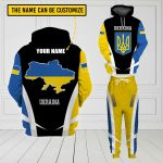 3D All-over Printed Apparels 'Ukraine' Crovell-X3