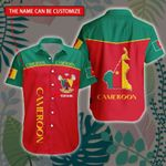 3D All-over Printed Hawaii Shirt & Short 'Cameroon' Geral-X1