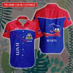3D All-over Printed Hawaii Shirt & Short 'Haiti' Geral-X1