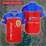 3D All-over Printed Hawaii Shirt & Short 'Puerto Rico' Geral-X1