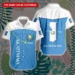 3D All-over Printed Hawaii Shirt & Short 'Guatemala' Geral-X1