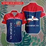 3D All-over Printed Hawaii Shirt & Short 'Dominican Republic' Geral-X1