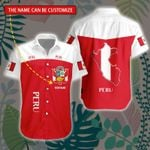3D All-over Printed Hawaii Shirt & Short 'Peru' Geral-X1