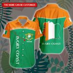 3D All-over Printed Hawaii Shirt & Short 'Ivory Coast' Geral-X1
