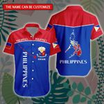 3D All-over Printed Hawaii Shirt & Short 'Philippines' Geral-X1