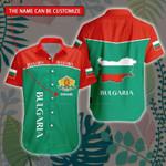 3D All-over Printed Hawaii Shirt & Short 'Bulgaria' Geral-X1