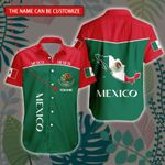 3D All-over Printed Hawaii Shirt & Short 'Mexico' Geral-X1
