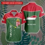 3D All-over Printed Hawaii Shirt & Short 'Hungary' Geral-X1
