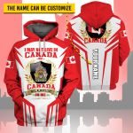 3D All-over Printed Apparels 'Canada' Crovell-X9