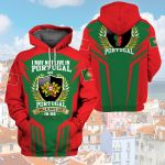 3D All-over Printed Apparels 'Portugal' Crovell-X9