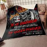 3D Skull Lover Blanket - Valentine edition - To my Girlfriend