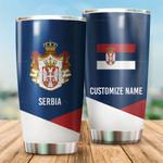 3D All-over Printed Tumbler 'Serbia' Yirado-X1