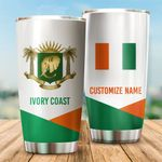 3D All-over Printed Tumbler 'Ivory Coast' Yirado-X1