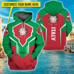 3D All-over Printed Apparels 'Italy' Crovell-X6
