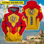 3D All-over Printed Apparels 'Armenia' Crovell-X6