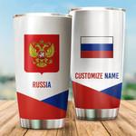 3D All-over Printed Tumbler 'Russia' Yirado-X1