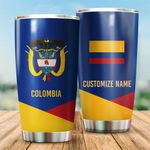 3D All-over Printed Tumbler 'Colombia' Yirado-X1