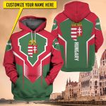 3D All-over Printed Apparels 'Hungary' Crovell-X6
