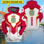 3D All-over Printed Apparels 'Denmark' Crovell-X6